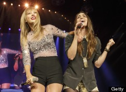 Sara Bareilles Appears On Stage With Taylor Swift For Duet