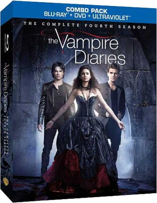 The Vampire Diaries Season 4 DVD Boxset Gives Fans A Lot To Bite Into