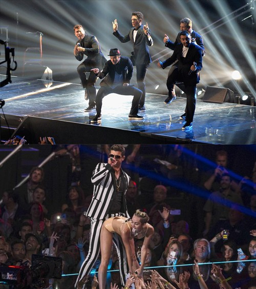 *NSYNC Weigh In On Miley Cyrus' VMA Performance