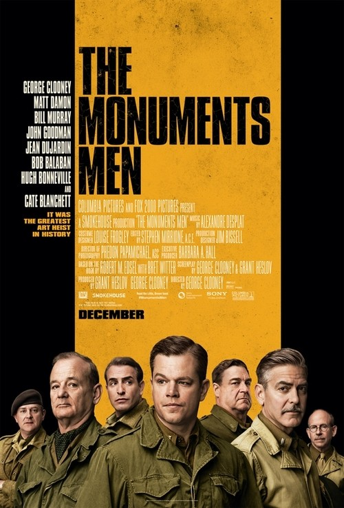 A New Poster Has Been Released For The Monuments Men