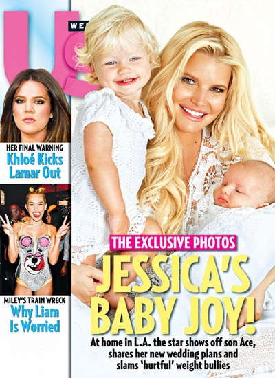 Meet Ace Knute: Jessica Simpson Shows Off Her Baby Boy
