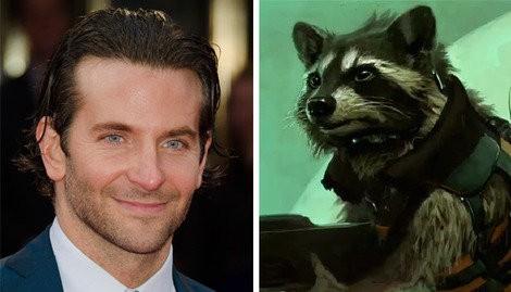 Bradley Cooper Is Going To Space As Rocket Raccoon In Guardians