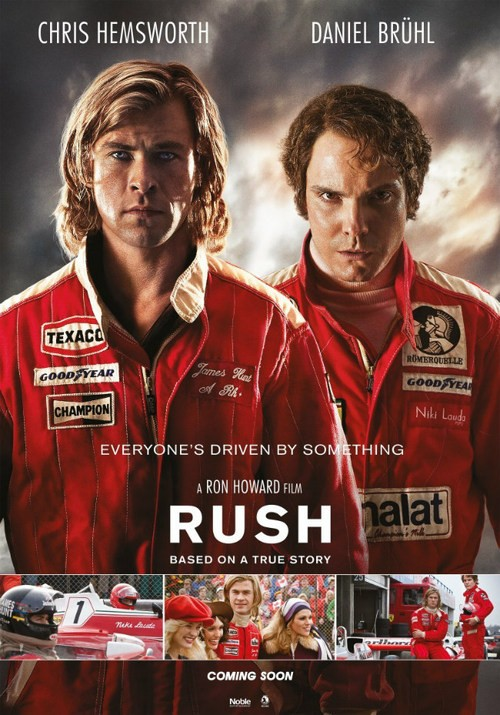 A New Teaser Clip Has Been Released For Ron Howard's Rush