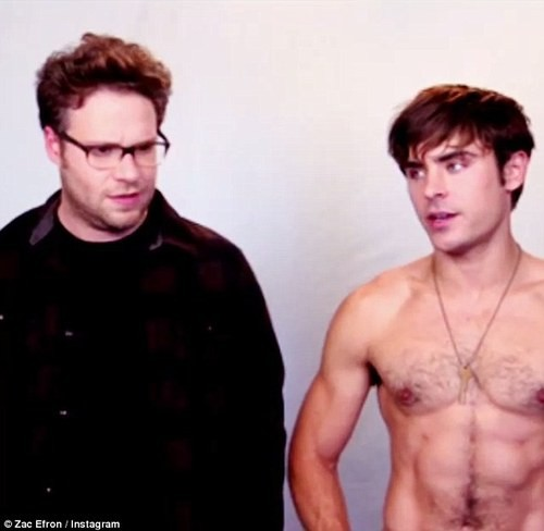 Zac Efron and Seth Rogen Go Head To Head In Neighbors