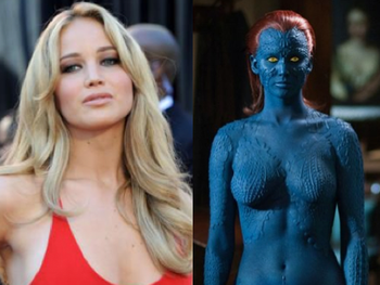 Jennifer Lawrence Shares The Naked Truth About Her Role As Mystique