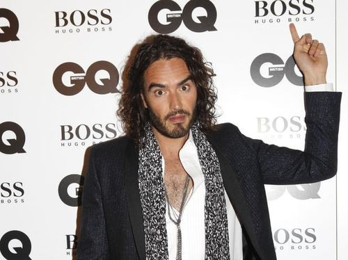 Russell Brand Insults Boris Johnson Over Syria With Nazi Salute