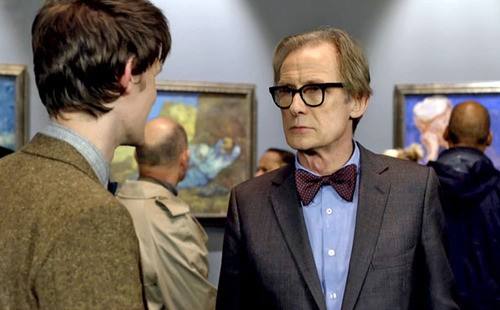 Bill Nighy Gives Peter Capaldi His Stamp Of Approval As New Doctor