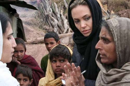 Angelina Jolie's Honored by the Academy for her Humanitarian Work