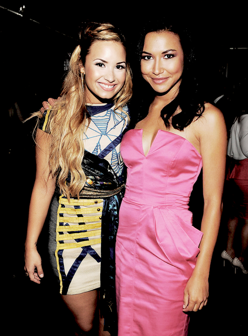 Demi Lovato Hopes Being Naya Rivera's Love On Glee Inspires Teens