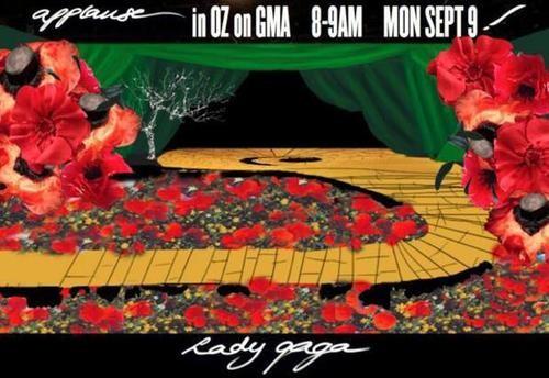 Lady Gaga Follows the Yellow Brick Road to Good Morning America