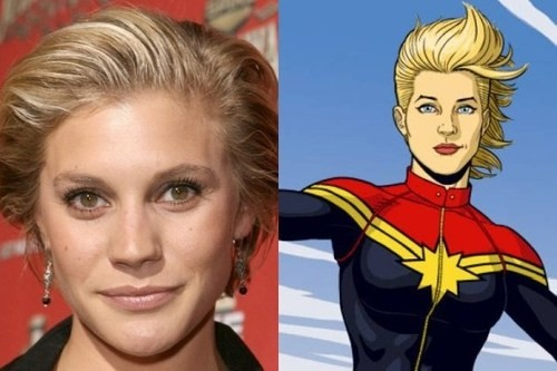 Is Katee Sackhoff Being Eyed For Captain Marvel?