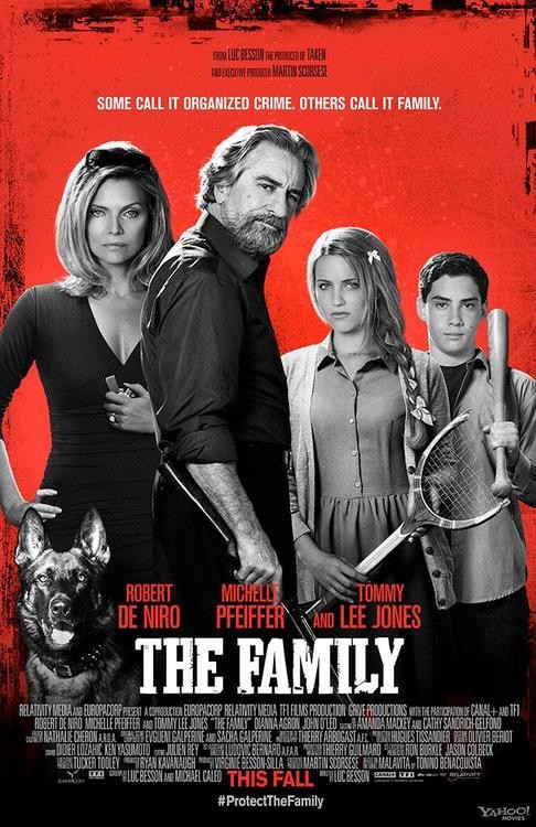 Robert DeNiro Turns Violent In 'The Family' Red Band Trailer