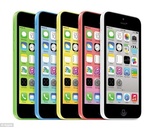 Apple CEO Finally Unveils New IPhone 5C and 5S To The World