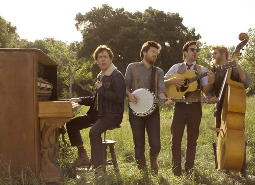 OIivia Wilde Shares Jason Sudeikis' Affections In Mumford & Sons Video