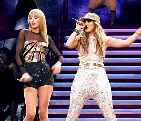 Taylor Swifts Nixes JLo Duet Rumors