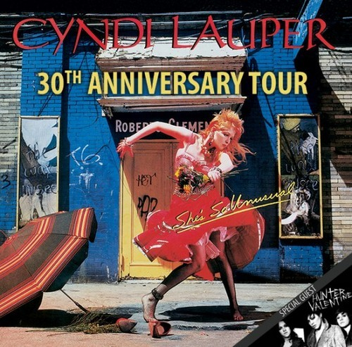 Popwrapped At Cyndi Lauper's She's So Unusual Anniversary Concert