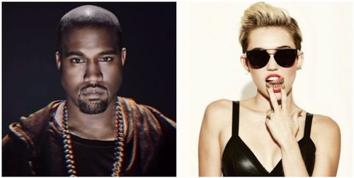 Kayne West And Miley Cyrus Team Up For Black Skinhead Remix