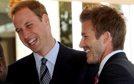 Prince William And David Beckham Team Up For Mother Nature