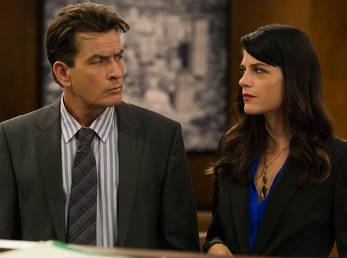 Charlie Sheen Denies Sacking Co Star Selma Blair