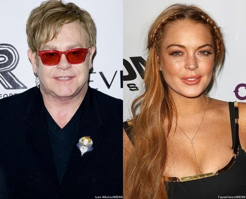Did Lindsay Lohan Inspire An Elton John Song? John Shares Details