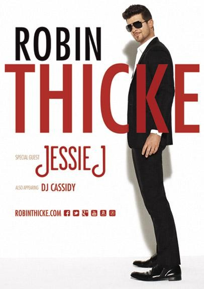 Robin Thicke Announces Tour With Jessie J And DJ Cassidy