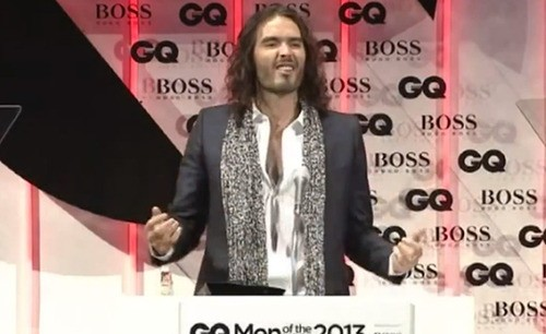 Russell Brand Addresses Controversial GQ Awards Acceptance Speech