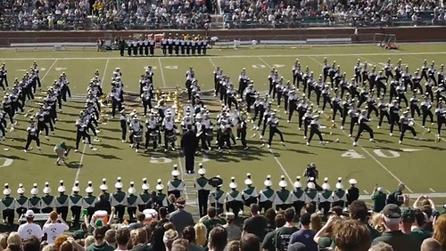 Ohio University Marching Band Take On 'The Fox'