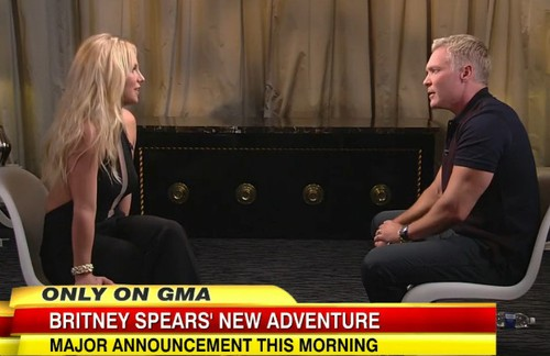 Britney Reveals Her Big Secret Live On GMA v2