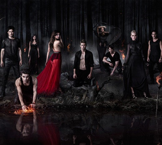 The Vampire Diaries Stuns With New Season Five Portraits v2