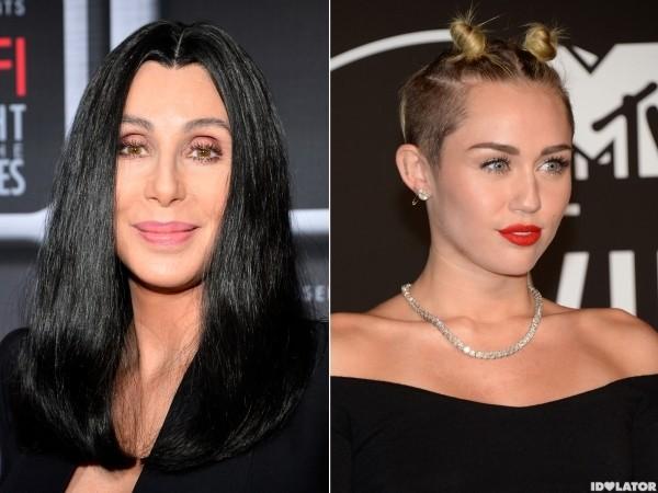 Cher Backtracks On Miley Slam