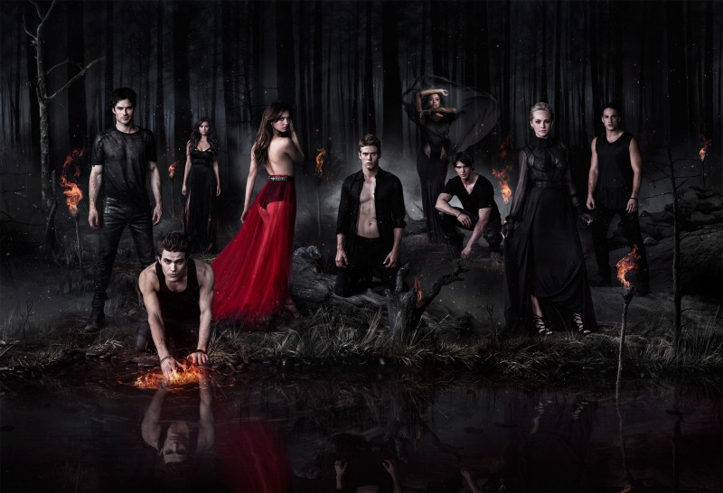 The Vampire Diaries Stuns With New Season Five Portraits