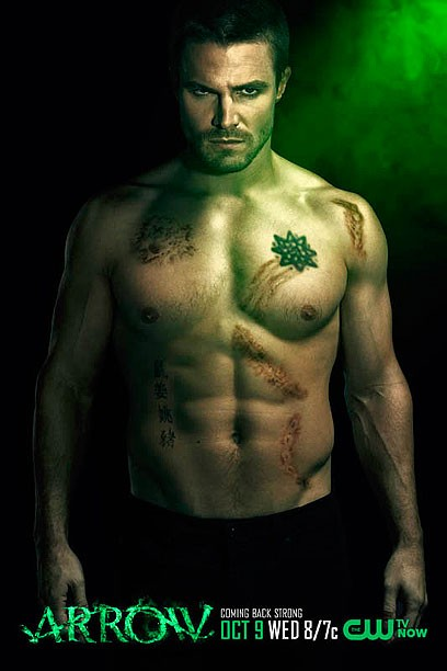 CW Unveils Sexy Arrow Promo Posters