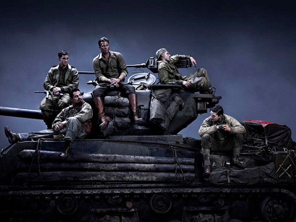 Writer/Director David Ayer Shares First Look At WWII Film Fury