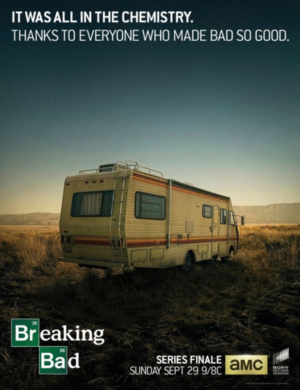 Breaking Bad Releases Poster For The Series Finale