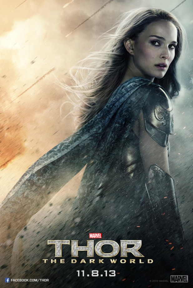 Newest Thor: The Dark World Posters Show The Leading Ladies Some Love