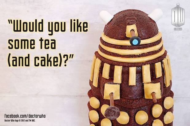 Extermi-cake: Doctor Who Inspired Dalek Cake Gets Whovian Approval
