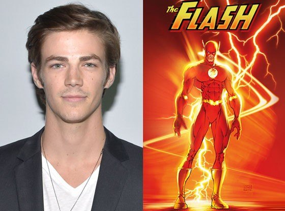 Grant Gustin Gleefully Fanboys Over Flash Role