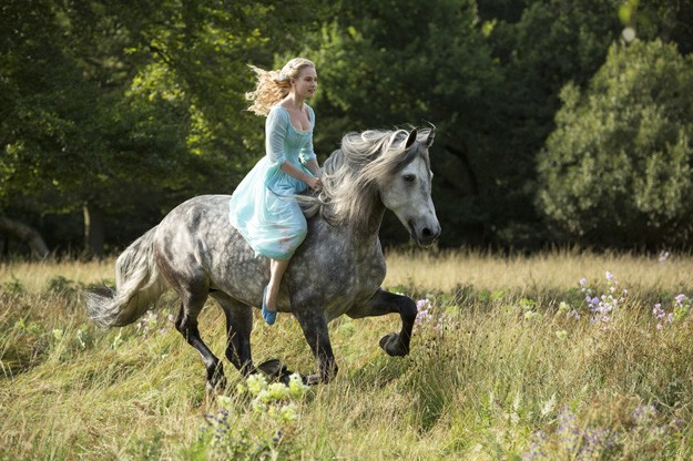 First Look: Cinderella Rides In Live Action Fairytale