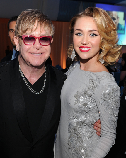 Elton John Defends Miley Cyrus And Says He'll Take Her Ex-Fiance