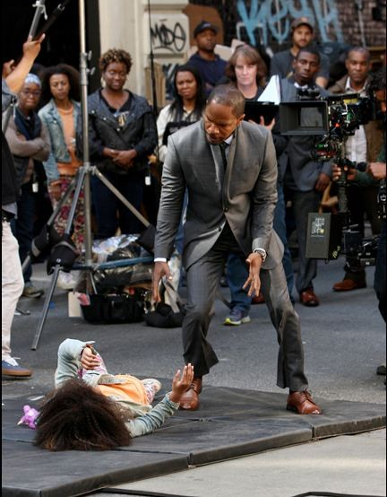 First Look: Jamie Foxx And The Cast Of