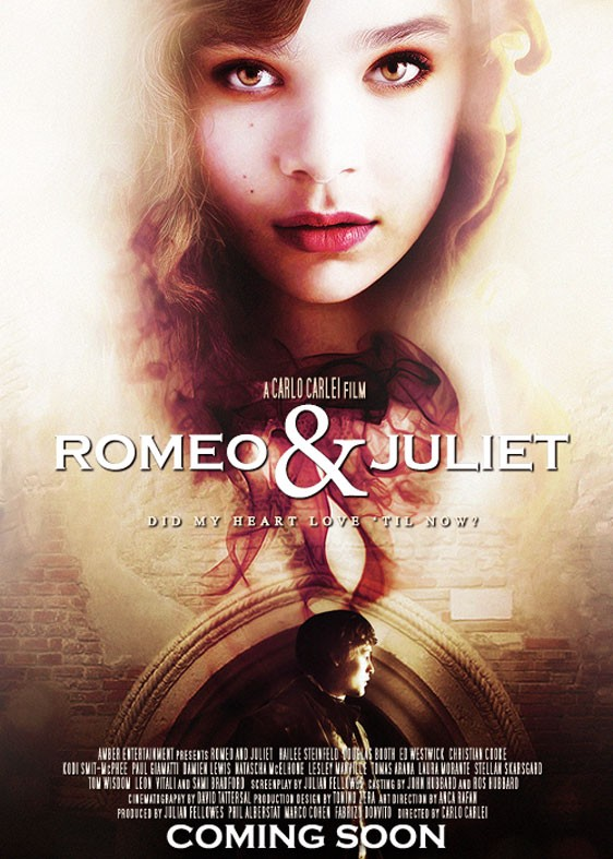 Douglas Booth In The First Glimpse Of The Romeo And Juliet Balcony Scene