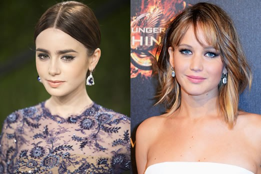 Lily Collins Shows Jennifer Lawrence And Kristen Stewart Some Love