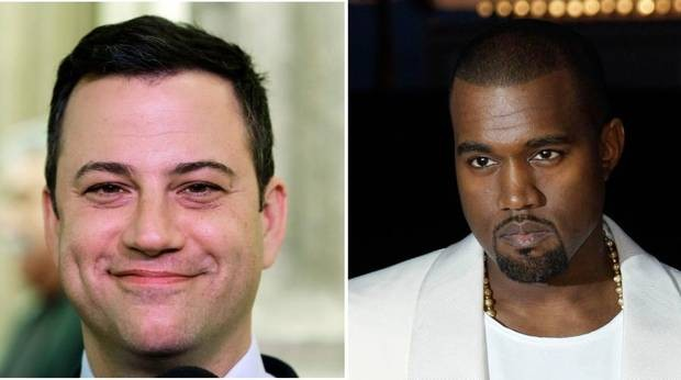 It's Kanye vs Kimmel In This Edition Of Twitter Wars
