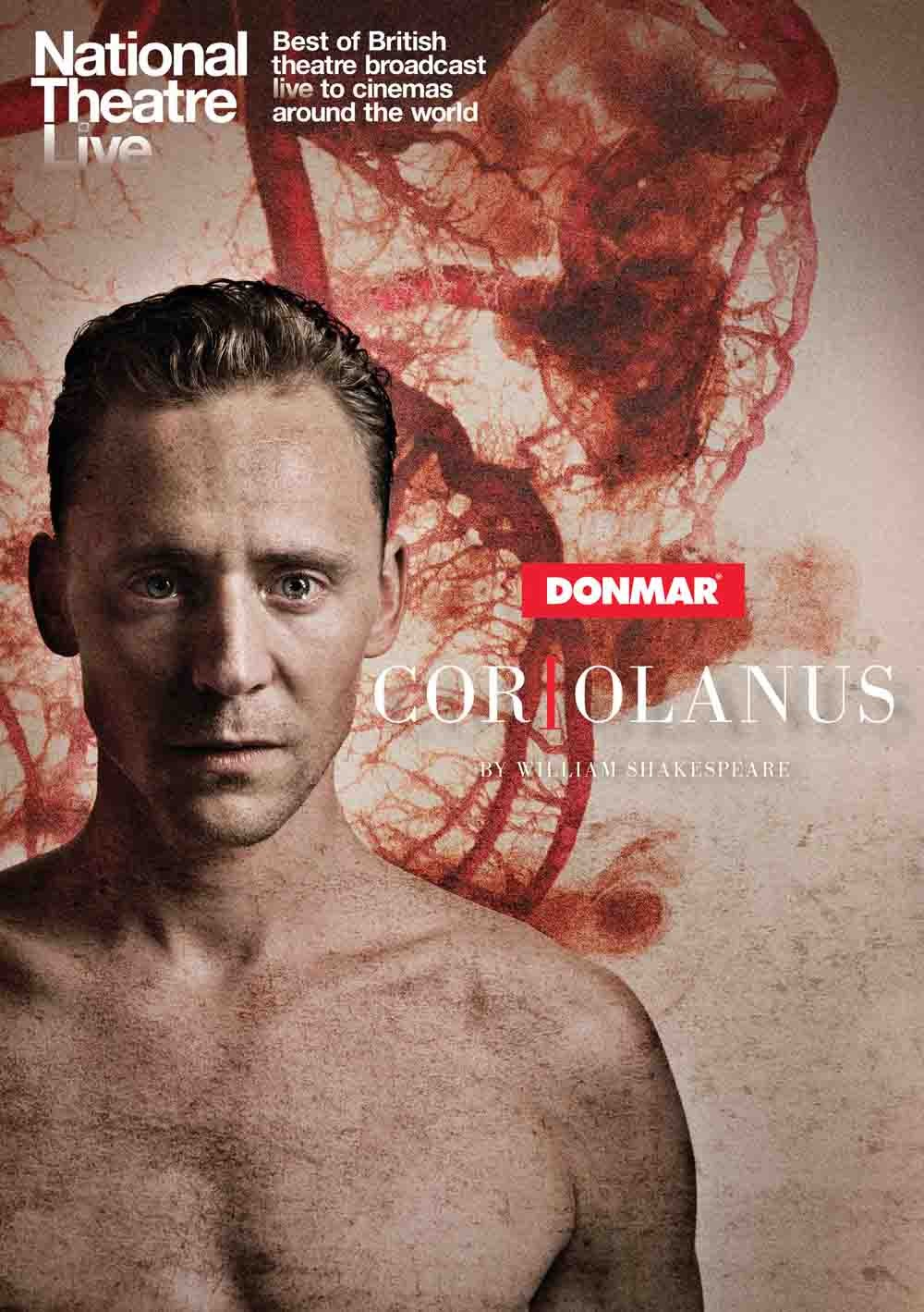 Tom Hiddleston Gets His Swordsmanship On During Coriolanus Rehearsals