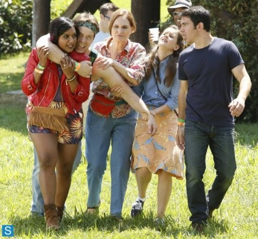 Get Ready To Hit The Road As The Mindy Project Crew Head To The Music Festival