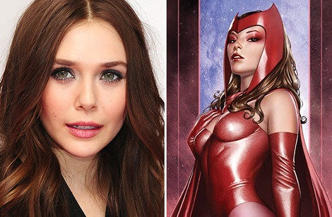 Elizabeth Olsen Confirmed To Join The Avengers As Scarlet Witch