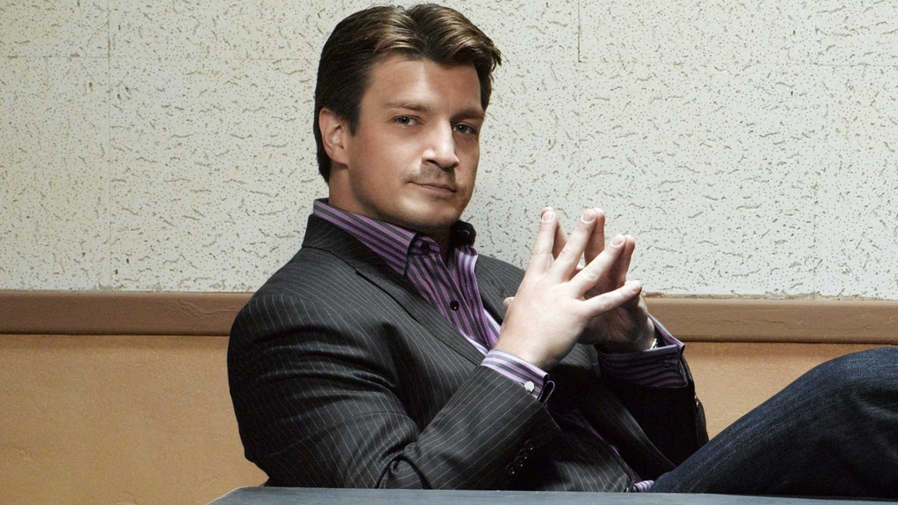 Castle's Nathan Fillion Set To Cause Trouble in Community