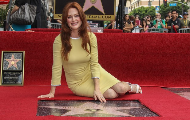 Julianne Moore Receives Her Star On The Hollywood Walk Of Fame