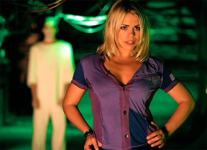 Billie Piper Takes Her Final Ride In The Tardis For The Doctor Who 50th Anniversary Special