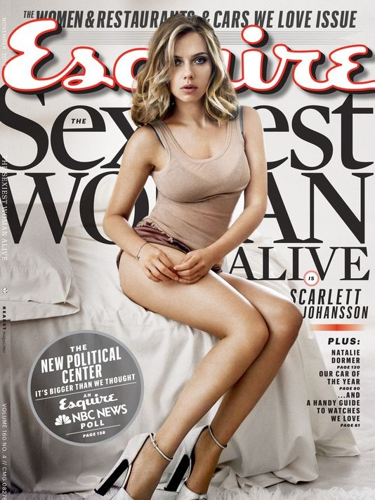 Who Is Esquire's Sexiest Woman Alive?